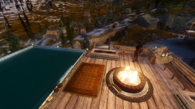 Pool with View of Dragonsreach