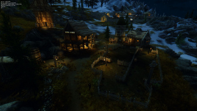 Heljarchen Estate at Night