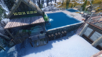 Sauna Shack and Pool