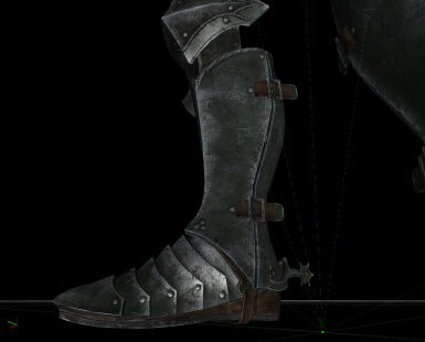 after - new high-res leather material that matches ebony armor
