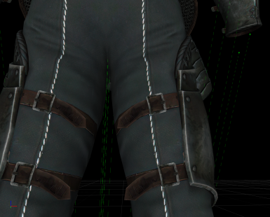 after - pants have a fabric texture and are minimally compressed with BC7