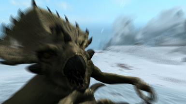 Me being attacked by a Clannfear NPC