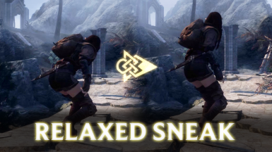 Relaxed Sneak Animations