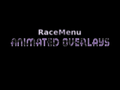 RaceMenu - Animated Overlays