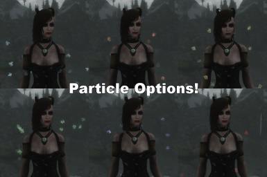 Available colors for the Runes particle option.  Many more options available, check the description!
