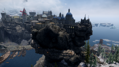 BPT, LOTD, Skyway, Enhanced Solitude, Enhanced Solitude Docks (All in one picture)