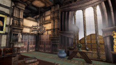 PCE Jarl's Bedroom now has a new set of doors that go straight to the terrace