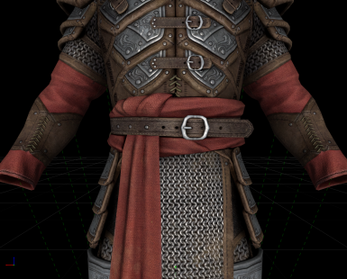 Spell Knight Armor Upscaled - Improved