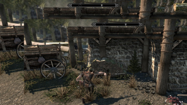Skyrim Spear Mechanic and OMEGA Heavy Armory Enchanted patch