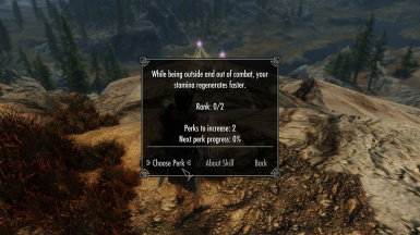 Most perks do not affect combat to maximize compatibility and ensure game balance is kept in check no matter your mods