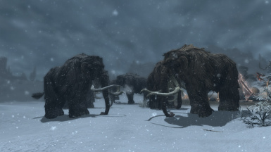 Color variation added to Mammoths!  (Ver. 3.7)