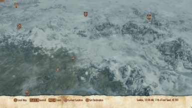 Picture of map using Icons from ButtonArt.swf