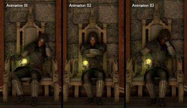 Jarl Sitting Animation Replacer - Vanilla - DAR - FNIS