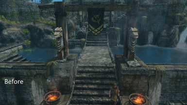 JK's Skyrim Patch - Fix Ugly Vanilla Totems and Ivy (Beautiful Whiterun And Solitude)