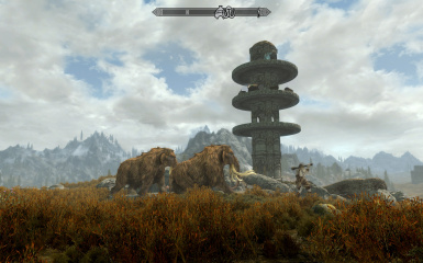 Land your home in over 60 locations in Skyrim and Solstheim