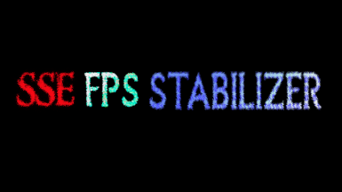 SSE FPS Stabilizer