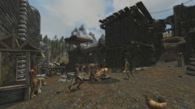 Whiterun - Population in Lower District