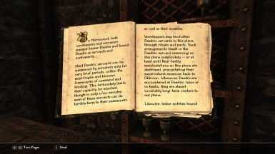 Sovngarde with Drukaatie Burti, the new book font included with it
