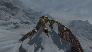 Talkative Dragons - Skyrim Immersive Creatures Patch