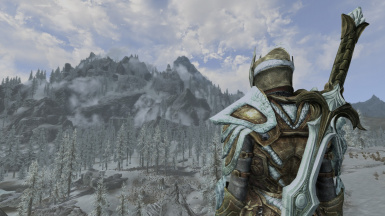 Frost White Glass and Armor Retexture