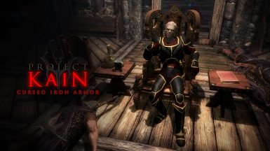 Project Kain - Cursed Iron Armor (SSE)