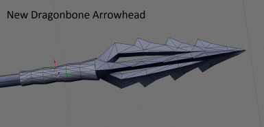 New Dragonbone arrow