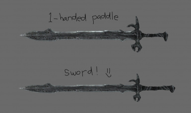 Leanwolfs Better Shaped Weapons Se At Skyrim Special Edition Nexus