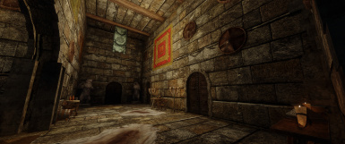 Stonecold Fortress, Upstairs