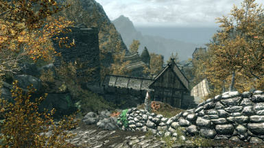 Nyhus and the border of Cyrodiil