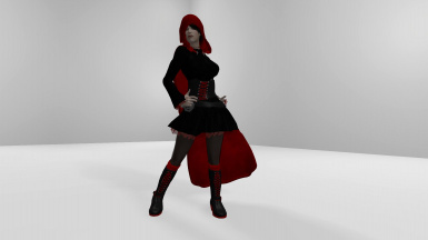 RWBY Ruby Rose Outfit CBBE Bodyslide