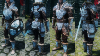 Refracting Stalhrim Armors and Weapons - UNP CBBE 7Base