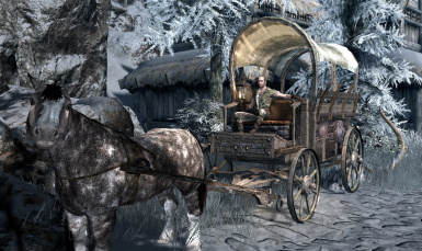 Carriage and Ferry Travel Overhaul - Fixes and Winterhold