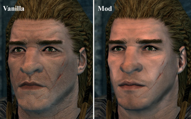 Detailed Male Faces
