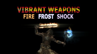 Vibrant weapons - Fire Frost Shock Spanish by xlwarrior
