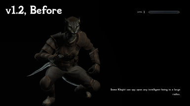 v1.2, Imperious - Races of Skyrim Addon