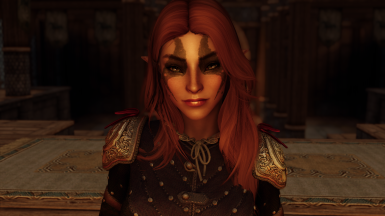 High Poly Female Wood Elf Preset for Racemenu