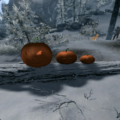 Pumpkins in VR - 3 Pumpkin sizes available to choose from!