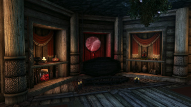 5.0 - Basement Vampire bed/decor