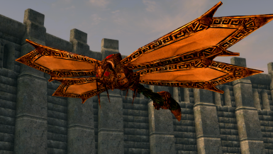 Seht's Dovah-Fly Pet - Mihail Monsters and Animals (MIHAIL SSE PORT)