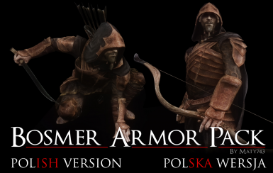 Bosmer Armor Pack - Polish Translation