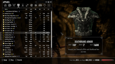 Deathbrand Weapons And Armor Replacer At Skyrim Special Edition