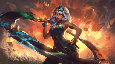 Qiyana Empress of the Elements Voice Mod - PC Head Tracking and Voice Type - League of Legend