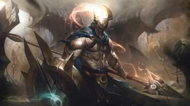 Pantheon the Unbreakable Spear Voice Mod - PC Head Tracking and Voice Type - League of Legend
