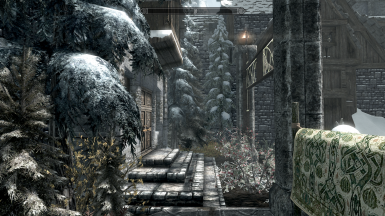 Without owning or having upgrades. (Immersive Laundry, TAVE Windhelm and A Few Trees in Windhelm active)