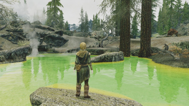 Cloudy weather Enb on