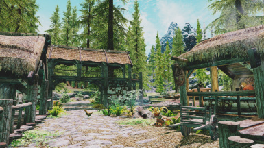 Sunny weather Enb on