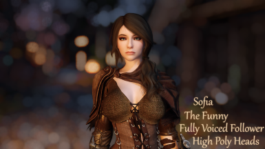 Sofia - The Funny Fully Voiced Follower - High Poly Heads Replacer