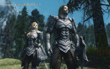 Dragon Carved Armor Set At Skyrim Special Edition Nexus Mods And Community The armor set is called dragon armor. dragon carved armor set at skyrim