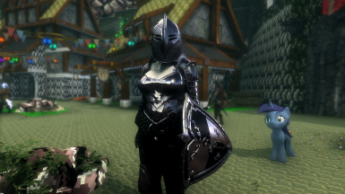 What the Ebony Armor Should Look Like