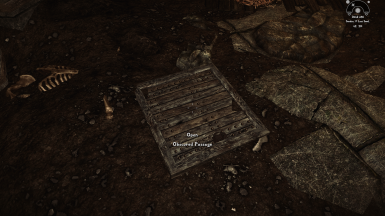 New Location for Obscured Passage, in front of the Skyrim Sewers Door